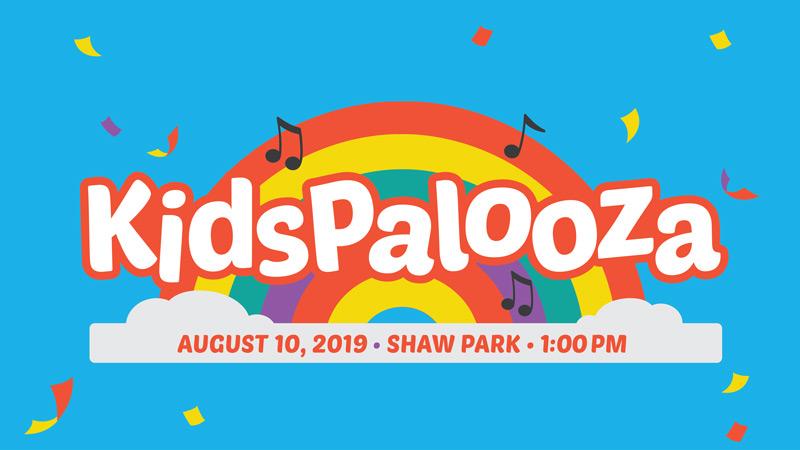 KidsPalooza at Shaw Park Logo